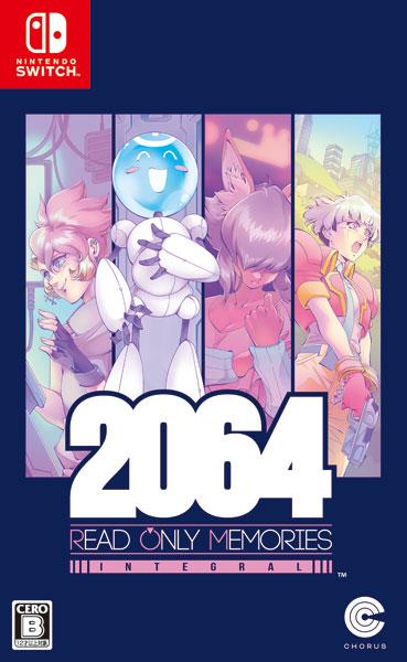 【特典】Nintendo Switch 2064:リードオンリーメモリーズ インテグラル[コーラス・ワールドワイド]《在庫切れ》