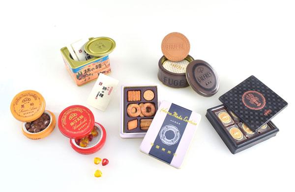銘菓 Miniature collection BOX版 12個入りBOX(再販)[ケンエレファント]《発売済・在庫品》