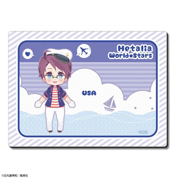 ヘタリア World★Stars ラバーマウスパッド Ver.3 デザイン04(アメリカ)(再販)[ライセンスエージェント]《在庫切れ》