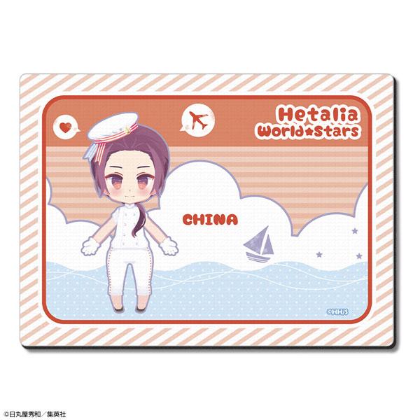 ヘタリア World★Stars ラバーマウスパッド Ver.3 デザイン08(中国)(再販)[ライセンスエージェント]《07月予約》
