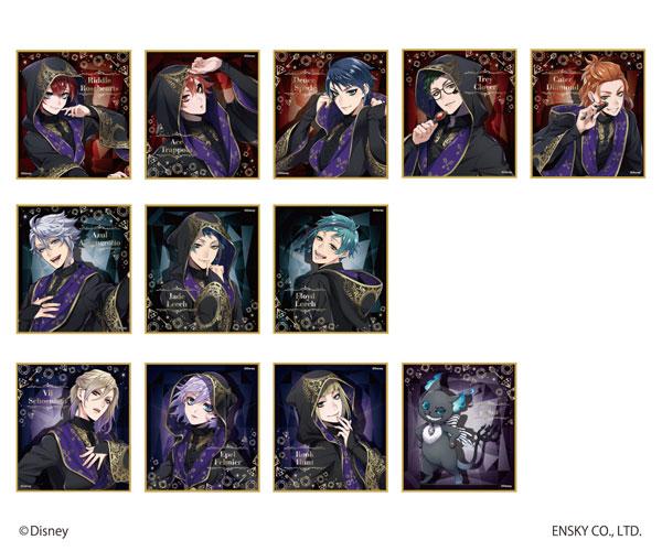 ディズニー ツイステッドワンダーランド ビジュアル色紙コレクションvol.3 12個入りBOX[エンスカイ]《発売済・在庫品》