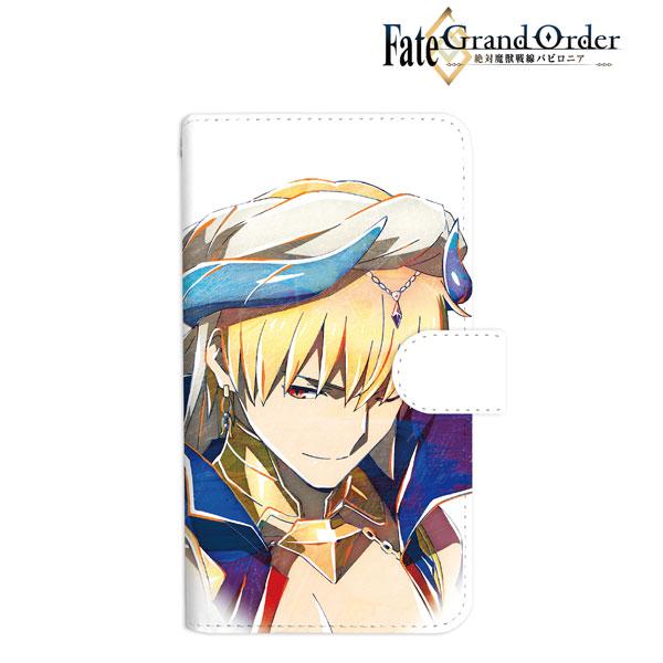 Fate/Grand Order -絶対魔獣戦線バビロニア- ギルガメッシュ Ani-Art 手帳型スマホケース Mサイズ[アルマビアンカ]《在庫切れ》
