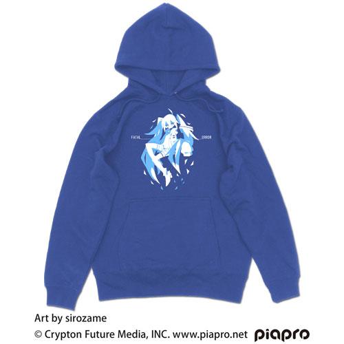 初音ミク プルオーバーパーカー sirozame Ver./ROYAL BLUE-L(再販)[コスパ]《10月予約》