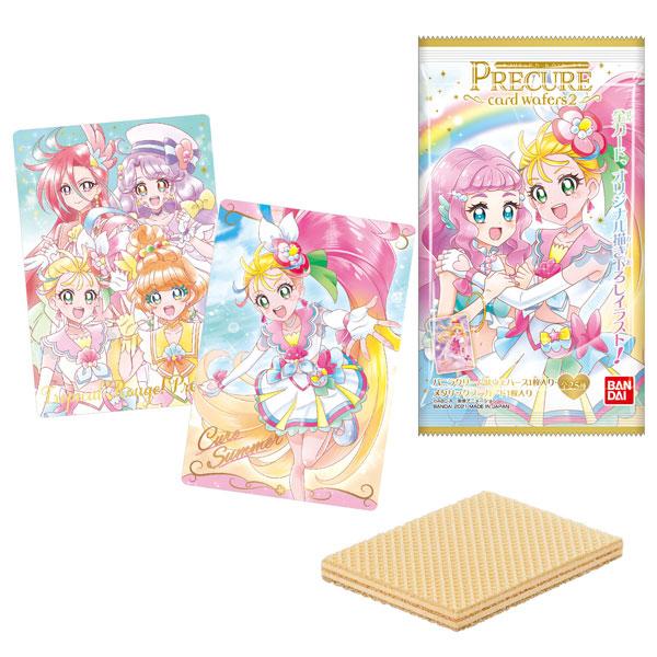 プリキュア カードウエハース2 20個入りBOX (食玩)[バンダイ]《発売済・在庫品》