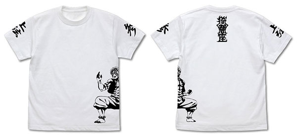 鬼滅の刃 無限列車編 猗窩座 Tシャツ /WHITE-M(再販)[コスパ]《12月予約》
