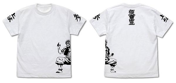 鬼滅の刃 無限列車編 猗窩座 Tシャツ /WHITE-L(再販)[コスパ]《12月予約》