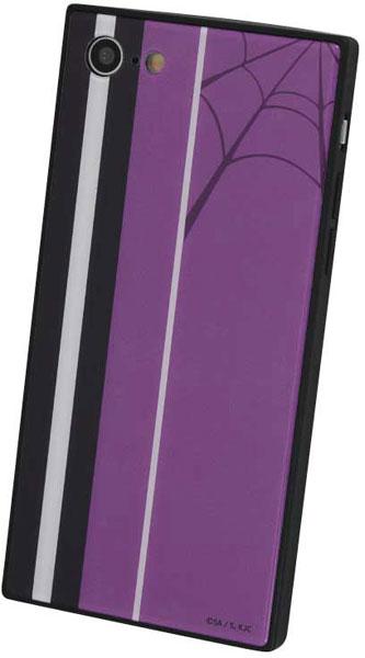 怪物事変 iPhone SE(第2世代)/8/7 対応 スクエアガラスケース 織[グルマンディーズ]《在庫切れ》