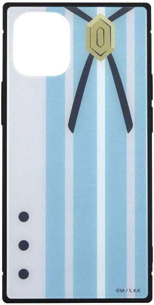 怪物事変 iPhone 12mini 対応 スクエアガラスケース 晶[グルマンディーズ]《在庫切れ》