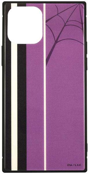怪物事変 iPhone 12/12 Pro 対応 スクエアガラスケース 織[グルマンディーズ]《在庫切れ》