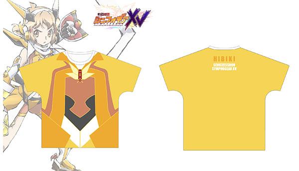 戦姫絶唱シンフォギアXV 立花響 ギアイメージ フルグラフィックTシャツ ユニセックス XL[アルマビアンカ]《在庫切れ》