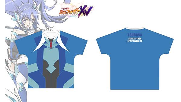 戦姫絶唱シンフォギアXV 風鳴翼 ギアイメージ フルグラフィックTシャツ ユニセックス XL[アルマビアンカ]《在庫切れ》