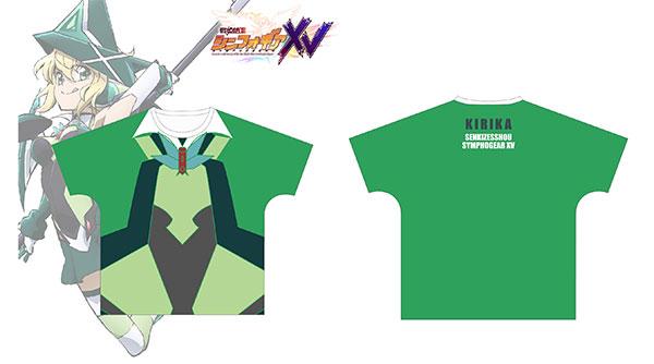 戦姫絶唱シンフォギアXV 暁切歌 ギアイメージ フルグラフィックTシャツ ユニセックス XL[アルマビアンカ]《在庫切れ》