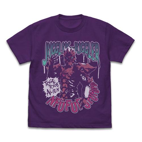 ウルトラマンZ ジャグラス ジャグラー Tシャツ/PURPLE-XL(再販)[コスパ]《06月予約》