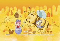 ジグソーパズル パズルデコレーションmini ディズニー プー/ゴールデンハニー 70ピース(70-032)[エポック]《発売済・在庫品》