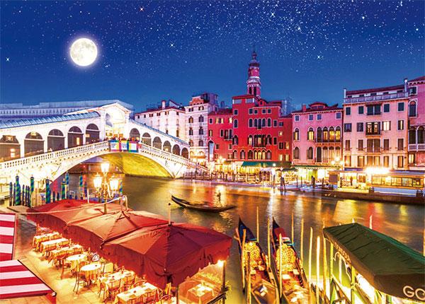 ジグソーパズル 月夜のヴェネツィア 600ピース (66-155)[ビバリー]《在庫切れ》