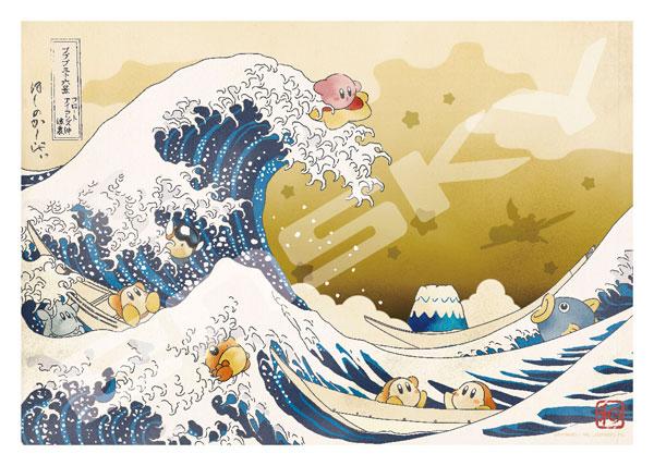 ジグソーパズル 星のカービィ プププ三十六景 フロートアイランズ沖浪裏 1000ピース (1000T-156)[エンスカイ]《01月予約》