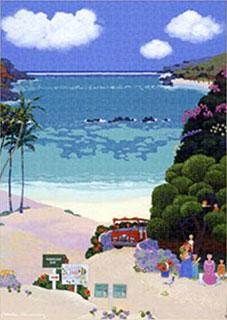 ジグソーパズル Picnic at Hanauma Bay ぎゅっと1000ピース (TPG-1000-617)[テンヨー]《在庫切れ》