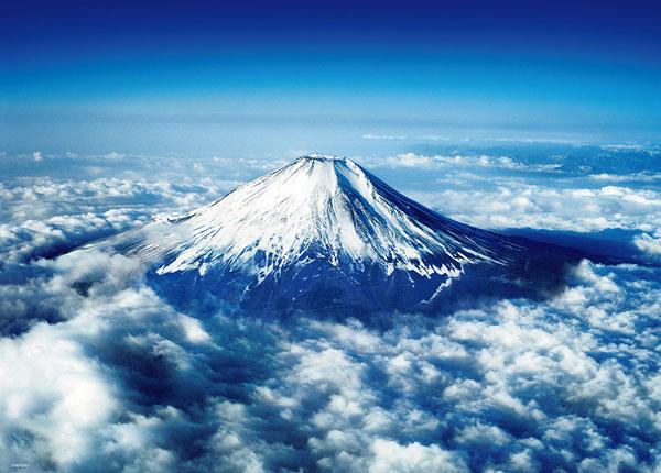 ジグソーパズル 富士山 ~空撮~ 600ピース (66-163)[ビバリー]《在庫切れ》