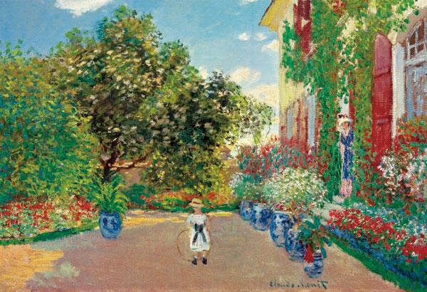 ジグソーパズル アルジャントゥイユの画家の家 1053スーパースモールピース (31-027)[エポック]《在庫切れ》