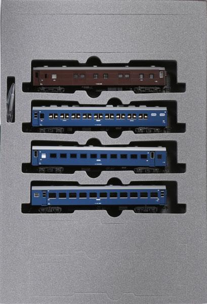 10-1624 43系夜行急行「きそ」 4両増結セット[KATO]《発売済・在庫品》