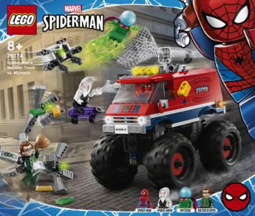 レゴ Super Heroes スパイダーマンのモンスタートラック vs.ミステリオ (76174)[レゴジャパン]《発売済・在庫品》