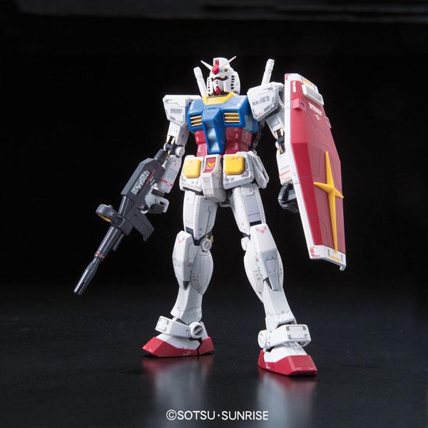 RG 1/144 RX-78-2ガンダム プラモデル(再販)[BANDAI SPIRITS]《発売済・在庫品》
