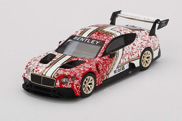 1/64 ベントレー コンチネンタル GT3 2020 クリスマスエディション(右ハンドル)[MINI GT]《在庫切れ》