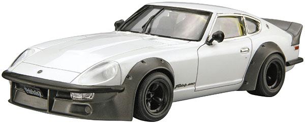 ザ・モデルカー No.128 1/24 ニッサン S30 フェアレディZ エアロカスタムVer.2 '75 プラモデル[アオシマ]《在庫切れ》