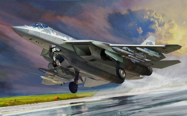1/48 Su-57 プラモデル[ズベズダ]《在庫切れ》