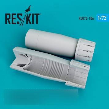 1/72 ユーロファイター タイフーン アフターバーナー (開状態) (H社用)[RES/KIT]《発売済・在庫品》