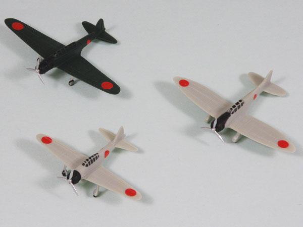 1/700 スカイウェーブシリーズ 日本海軍機セット 5 プラモデル(再販)[ピットロード]《在庫切れ》