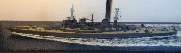 1/700 米海軍 巡洋戦艦 USS レキシントン CC-1 1921年 「クラフトマンキット」 プラモデル[IHP]《01月予約》