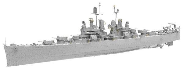 1/350 米海軍 軽巡洋艦 USS バーミングハム (CL-62) プラモデル[Very Fire]《01月仮予約》