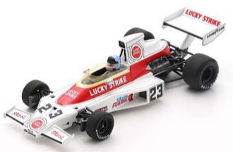 1/43 McLaren M23 No.23 South African GP 1974 Dave Charlton[スパーク]《在庫切れ》