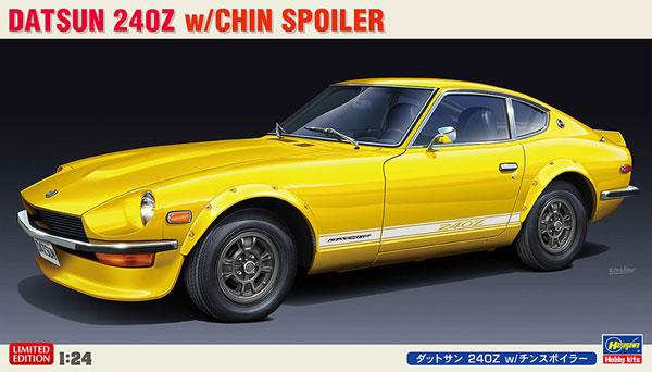 1/24 ダットサン 240Z w/チンスポイラー プラモデル[ハセガワ]《発売済・在庫品》