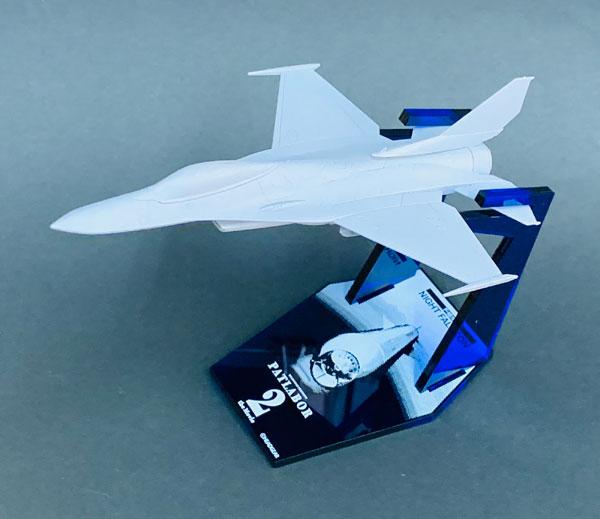 1/144 機動警察パトレイバー2 the Movie U.S.AIR FORCE F-16改 ナイト・ファルコン 限定版(クリアブルー) プラモデル[エイチエムエー]《05月予約》