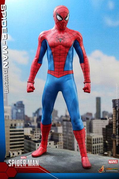 ビデオゲーム・マスターピース『Marvel's Spider-Man』1/6スケールフィギュア スパイダーマン(クラシック・スーツ版) ※延期・前倒し可能性大[ホットトイズ]【同梱不可】【送料無料】《06月仮予約》