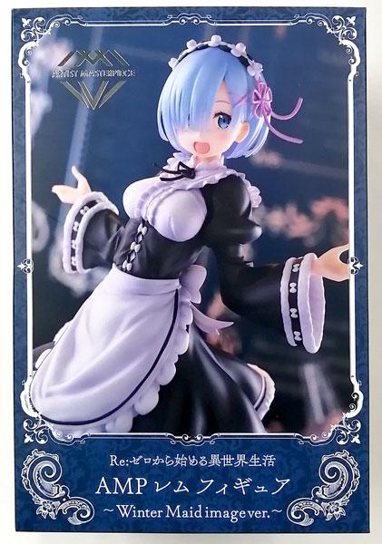 Re:ゼロから始める異世界生活 AMP レム フィギュア~Winter Maid image ver.~ (プライズ)