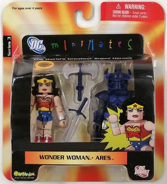 miniMates Series 3 ワンダーウーマン&アレス