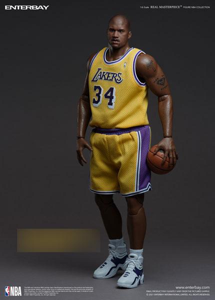 リアルマスターピース NBAコレクション/ シャキール・オニール 1/6 コレクティブル フィギュア[エンターベイ]【送料無料】《発売済・在庫品》