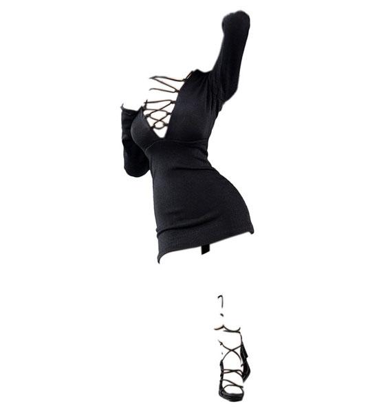 1/6 女性アウトフィット ファッションドレス セット B (ドール用)[Very Cool]《06月仮予約》