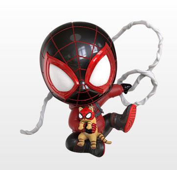 コスベイビー[サイズS]マイルス・モラレス/スパイダーマン(売店の看板猫スーツ版)[ホットトイズ]《発売済・在庫品》