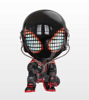 コスベイビー[サイズS]マイルス・モラレス/スパイダーマン(マイルス・モラレス2020スーツ版)[ホットトイズ]《発売済・在庫品》