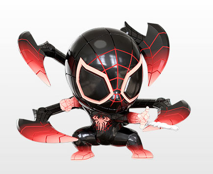 コスベイビー[サイズS]マイルス・モラレス/スパイダーマン(プログラマブルマター・スーツ版)[ホットトイズ]《発売済・在庫品》