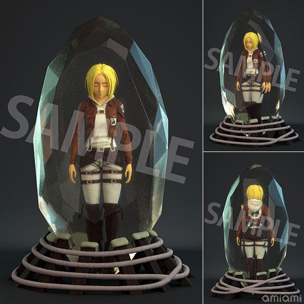 進撃の巨人「アニ・レオンハート」水晶体ver. フルカラー3Dクリスタルフィギュア[B´full FOTS JAPAN]《05月予約》