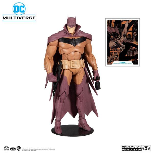 『DCコミックス』 DCマルチバース 7インチ・アクションフィギュア #046 バットマン(レッド・エディション)[マクファーレントイズ]《発売済・在庫品》