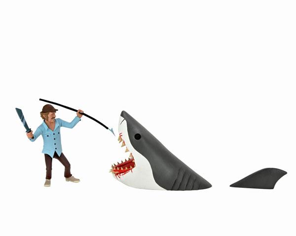 トゥーニーテラーズ/ スタイライズド 6インチ アクションフィギュア: JAWS サム・クイント&ブルース 2PK[ネカ]《在庫切れ》