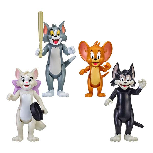 『トムとジェリー』 ムース・トイズ アクションフィギュア 4パック トムとジェリーと仲間たち[ムース・トイズ]《発売済・在庫品》