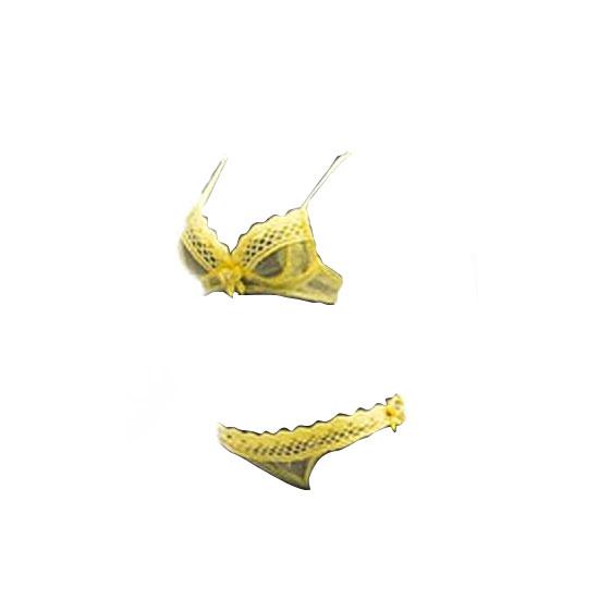 1/6 セクシー ランジェリー シリーズ レモンイエロー (ドール用)[MCCトイズ]《06月仮予約》