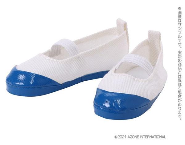 1/3スケール用 50上履きII 白×青 (ドール用)[アゾン]《発売済・在庫品》